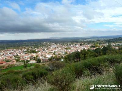Pico Cerillón - La Morra - Montes de Toledo; fin de semana senderismo; otoño